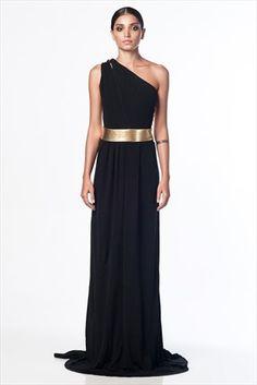 OUTLET - Elbise - Siyah Abiye Elbise 12415262000/1 %58 indirimle 249,99TL ile Trendyol da