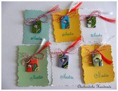 Martisor fericit! Craft Ideas, Christmas Ornaments, Holiday Decor, Crafts, Home Decor, Manualidades, Decoration Home, Room Decor, Christmas Jewelry