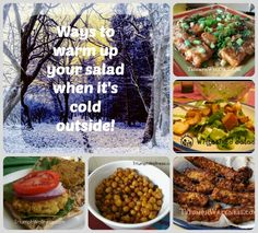 Hate eating salad when it's cold outside?  Try these tips to bring warmth to your winter salads.