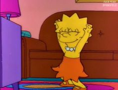 Lisa Simpson knows how to party Lisa Simpson, Music Cover Photos, Music Covers, Simpson Wallpaper Iphone, Cartoon Wallpaper, Mood Wallpaper, Happy Wallpaper, Cartoon Memes, Cartoon Pics