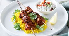 Infused with curry paste and yoghurt, these tandoori chicken skewers add new life to your weekly menu.