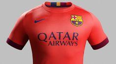 New 2014-2015 away kit of Barca