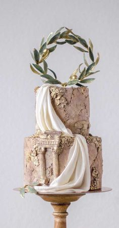 Be inspired by these pretty wedding cakes! We are having a major swoonnsesh over these gorgeous wedding cakes. These latest wedding cakes are the latest instragram wedding cake trend from fabulous artist cake designers. Pretty Wedding Cakes, Elegant Wedding Cakes, Elegant Cakes, Wedding Cake Designs, Pretty Cakes, Beautiful Cakes, Amazing Cakes, Wedding Themes, Wedding Colors