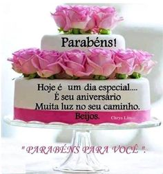 Mensagens De Bolos Feliz Aniversário Felicidades Felizaniversario