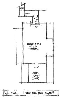 New House Plan on the Drawing Board - Don Gardner House Plans Plan Drawing, Drawing Board, Conceptual Design, Bedroom Layouts, New House Plans, Screened In Porch, Outdoor Living Areas, Walk In Pantry, Bay Window