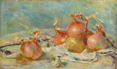 ルノワール タマネギ 1881         「タマネギ」 1881年
