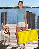 Paws Aboard Dog Boat Ladder Dog Boat Ramp, Overweight Dog, Water Safety, Back Injury, Floating In Water, Old Dogs, Water Crafts, New Tricks, Dog Life