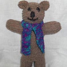 Free knitting pattern: Teddy Bear – Knit-a-square Teddy Bear Patterns Free, Teddy Bear Knitting Pattern, Knitted Teddy Bear, Crochet Teddy, Knitting Patterns Free, Free Knitting, Knitting Toys, Knitting Ideas, Arm Cast