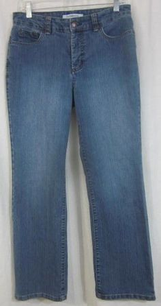 Croft & Barrow Jeans Size 10 Short 30x28 Straight Leg Free Shipping #CroftBarrow #StraightLeg