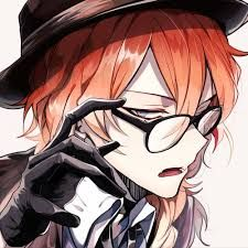 Reading stories of bungee stray dogs - Chuuya Nakahara - Kotor . Stray Dogs Anime, Bongou Stray Dogs, Hot Anime Boy, Cute Anime Guys, Anime Boys, Anime Style, Vocaloid, Manga Font, Arte Emo