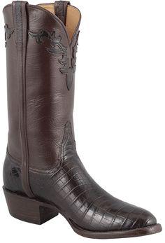 ec0f310dd35 Lucchese Men's Chocolate Nile Crocodile Boots. NijlkrokodilCowgirl  LaarzenHerenlaarzenWestern KledingCowboylaarzenHeren ...