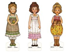 The Gingham Paper Dolls