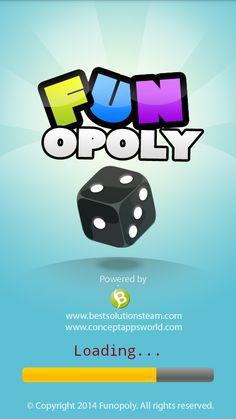 Funopoly:- splash screen