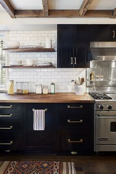 Dark, light, oak, maple, cherry cabinetry and vinyl wood kitchen cabinets. CHECK THE PICTURE for Many Wood Kitchen Cabinets. Wood Kitchen Cabinets, Painting Kitchen Cabinets, Kitchen Tiles, Kitchen Colors, Kitchen Flooring, Kitchen Countertops, Black Cabinets, Kitchen Paint, Kitchen Shelves