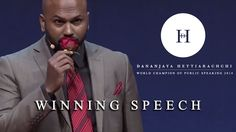 The best speech I've ever heard: Dananjaya Hettiarachchi World Champion of Public Speaking