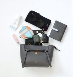 Diaper Bags Buying Tips Celine Belt Bag Mini, Celine Nano Bag, Celine Nano Luggage, Chloe Bag, Inside My Bag, Waist Purse, What In My Bag, Louis Vuitton, Backpacks