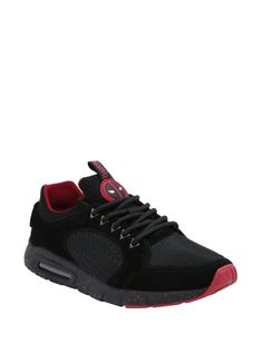 Marvel Deadpool Suede Athletic Sneakers | Hot Topic