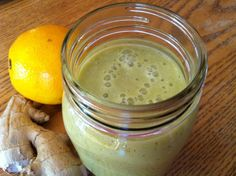 An Orange-Ginger Smoothie To Help Fight Cold & Flu.
