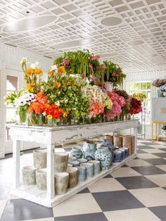 Garden cafe, home and garden store, retail shop, flower shop decor, flower Design Shop, Shop Interior Design, Florist Shop Interior, Luxury Interior, Flower Shop Decor, Flower Shop Design, Flower Shop Displays, Flower Shop Interiors, Flower Bar