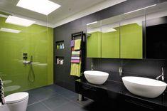 Contemporary Slate Bathroom