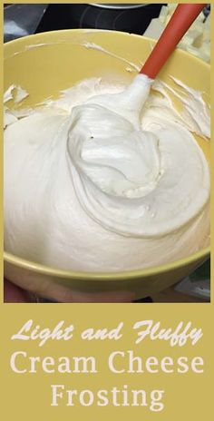 Try Martha Stewart's quick and easy cream cheese frosting recipe! Cream cheese frosting is a delicious delight atop cupcakes and a favorite on pumpkin cake, carrot cake, and more! Icing Frosting, Frosting Recipes, Cake Recipes, Dessert Recipes, Cake Frosting Recipe, Frosting For Carrot Cake, Cool Whip Frosting, Homemade Frosting, Carrot Cakes