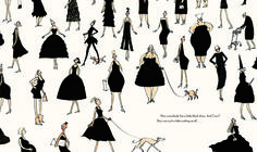 Coco and the Little Black Dress by Annemarie Van Haeringen (fashionable picture books)