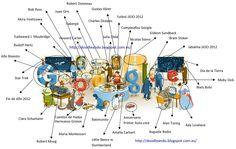 Doodleando, Los Logos de Google: Fin de Año 2012