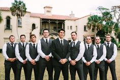 groomsmen vests.   http://www.stylemepretty.com/2013/09/03/sarasota-wedding-from-justin-demutiis/