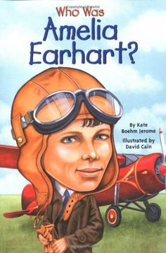 """Amelia Earhart was a woman of many """"firsts."""" In 1932, she became the first woman to fly solo across the Atlantic Ocean. In 1935, she also became the first woman to fly across the Pacific. From her early years to her mysterious 1937 disappearance while attempting a flight around the world, readers will find Amelia Earhart's life a fascinating story."""