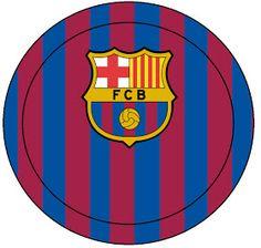 AQUARELINHA: Kit Futebol (Barcelona) Bolo Do Barcelona, Barcelona Soccer Party, Messi, 2nd Birthday, Birthday Parties, Soccer Cake, Real Madrid, Champions League, Party Themes