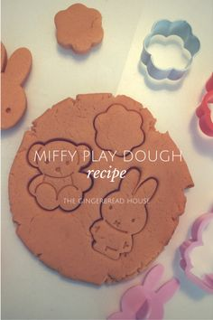 miffy play dough rec