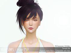 메이 아이템 - [Lv 1 Items] - May_TS4_Hair75F