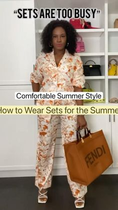 Summer Outfits Women, Trendy Outfits, Fashion Over 40, Look Chic, Comfortable Fashion, Cool Suits, Style Guides, Fashion Forward, Women Wear