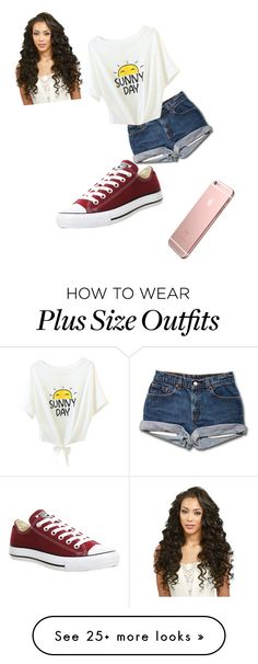 """Untitled #672"" by alicyafullbuster on Polyvore featuring Converse"