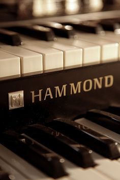 Hammond Organ Close up - #organ #hammond #jazz