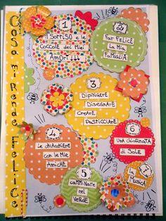 """smash book sfida ELENCO del gruppo fb """"Smash book terapia"""" SMASH BOOK LIST INSPIRATION di Francesca Orlandi"""