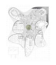 Torre della ricerca in zona industriale a Padova