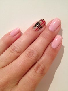 Pink and Burberry :)