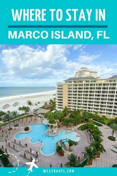 Where to stay in Marco Island, Florida and what to do when you are in Southwest Florida! Marco Island Beach, Marco Island Florida, Sanibel Island, Florida Vacation Spots, Florida Travel, Florida Beaches, Travel Usa, Beach Travel, Spring Break Destinations