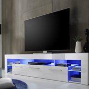 trendteam SC85201 TV Möbel Lowboard, BxHxT 200 x 44 x 44 cm, Weiss Hochglanz  http://www.tv-moebel.info/produkt/trendteam-sc85201-tv-moebel-lowboard-bxhxt-200-x-44-x-44-cm-weiss-hochglanz/