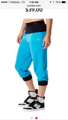 Blue zumba Pants