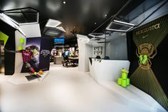Retail Design | Store Interiors | Shop Design | Visual Merchandising | Retail Store Interior Design | Football Temple, Milan, Italy