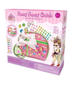 Take a look at this Fancy Nancy Stick'n Style Clutch Kit on zulily today!
