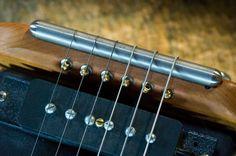 Harmos Americana Guitar wraparound bridge