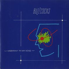 """For Sale - Buzzcocks Harmony In My Head - Blue P/S UK  7"""" vinyl single (7 inch record) - See this and 250,000 other rare & vintage vinyl records, singles, LPs & CDs at http://eil.com"""