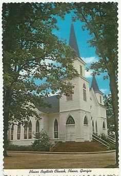 Postcard Plains Baptists Church, Plains Georgia Built in 1906 4 X6 inch for USD3.75 #Collectibles #Postcards #Buildings #Postcard Like the Postcard Plains Baptists Church, Plains Georgia Built in 1906 4 X6 inch? Get it at USD3.75!