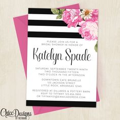 Hey, I found this really awesome Etsy listing at https://www.etsy.com/listing/248631279/black-white-roses-classy-bridal-shower