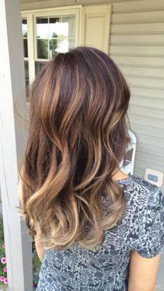 Bronde ombre. Perfect for the Fall!