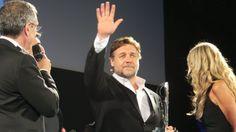 #RusselCrowe all'anteprima de L'Uomo d'Acciaio al #TaorminaFilmFest! #ManofSteel #luomodacciaio #UomoAcciaio