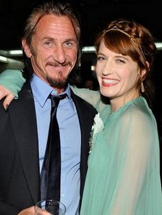 Love is Blind Celebrities [34]: Sean Penn and Florence Welch